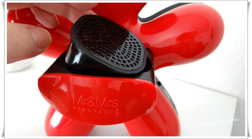 george elektrischer duftspender von mr mrs fragrance. Black Bedroom Furniture Sets. Home Design Ideas